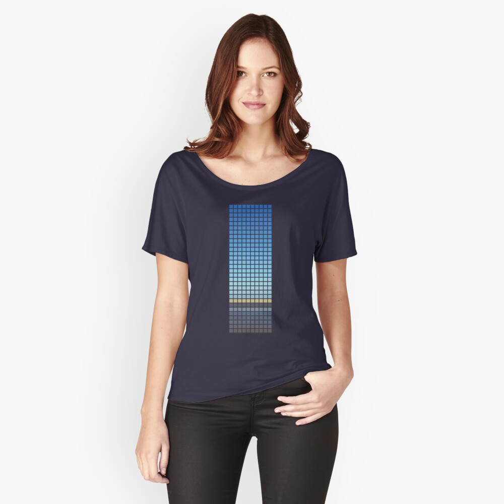 Horizon Women's Relaxed Fit T-Shirt Front