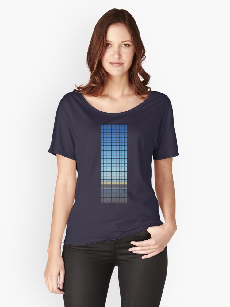 Horizon Women's Relaxed Fit T-Shirt Front