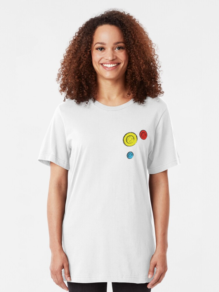 Alternate view of Buttons Slim Fit T-Shirt