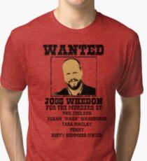 Joss Whedon: wanted Tri-blend T-Shirt