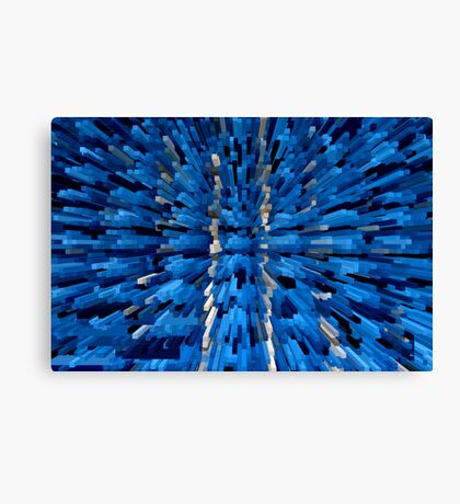 Blue View 2 Canvas Print