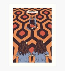 The Shining Room 237 Danny Torrance  Art Print