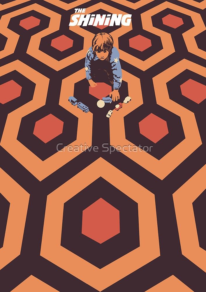 The Shining Poster by Creative Spectator