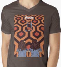 Camiseta para hombre de cuello en v The Shining Room 237 Danny Torrance