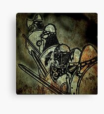 Shield wall Canvas Print