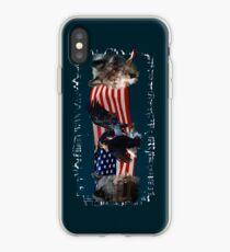 Eagles, Bear, Wolf, American Flag US Patriotic iPhone Case