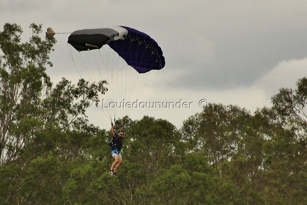 Parachuting by Louiedownunder  ©
