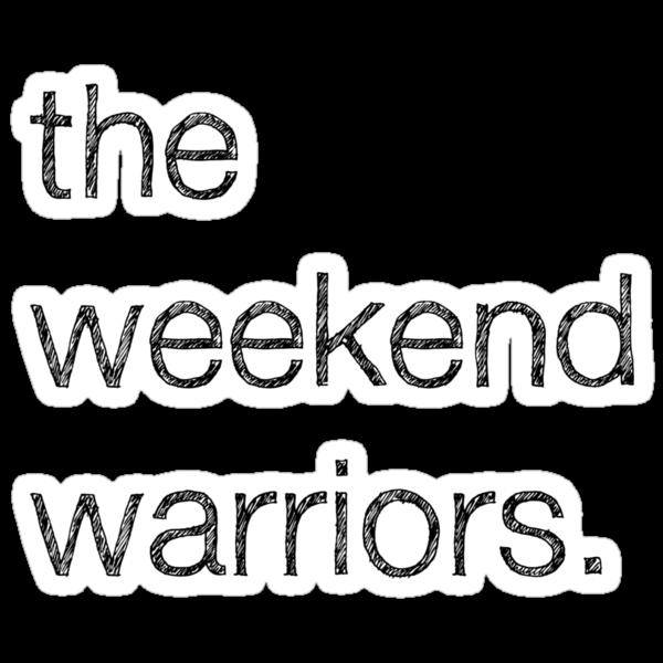 """Weekend Warriors"" Tee by MALDÉR London"