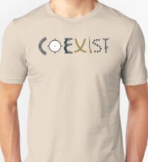 coexist with guns T-Shirt