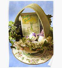 Easter Basket Poster