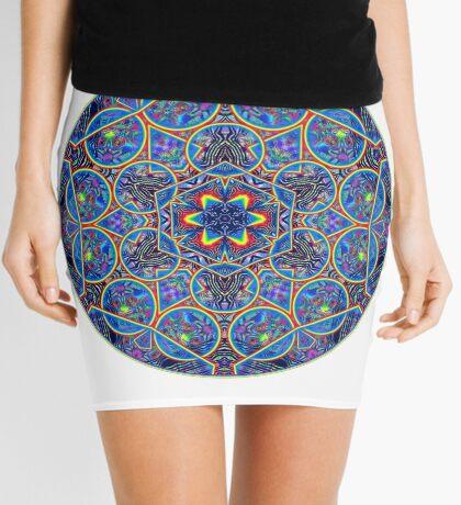Infinite Refraction Mini Skirt