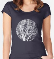 Nature into Me Women's Fitted Scoop T-Shirt
