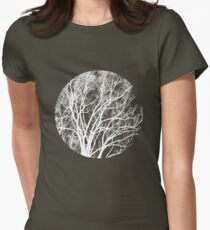 Nature into Me Womens Fitted T-Shirt