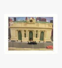 Lego Grand Central Terminal, Grand Central Station, New York City Art Print