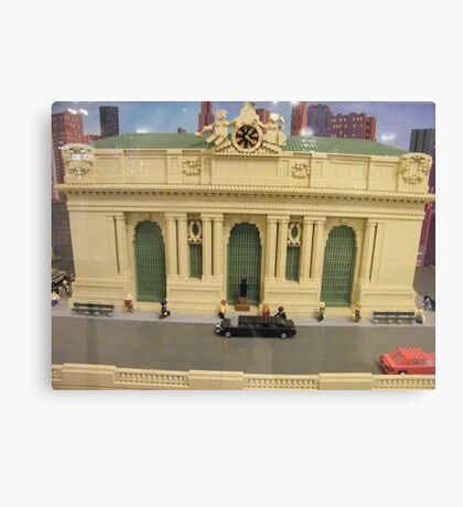 Lego Grand Central Terminal, Grand Central Station, New York City Canvas Print