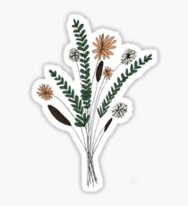 Flower Illustration Sticker