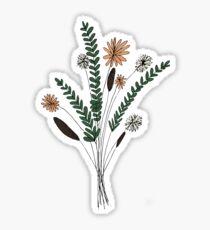 Flower Illustration Sticker