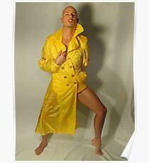 rain coat Poster