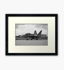 Enter the Hornet's nest. Framed Print