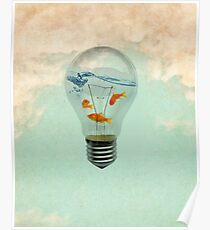 ideas and goldfish Poster