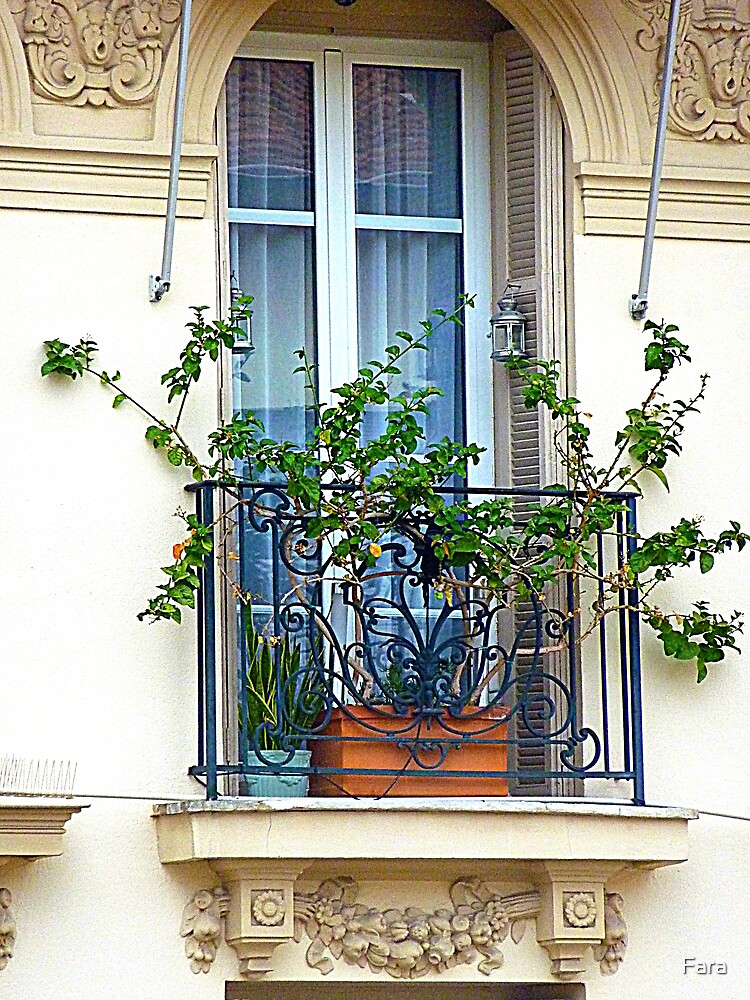 A Window In Blue by Fara