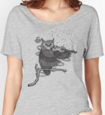 MUSIC OF THE NIGHT Women's Relaxed Fit T-Shirt