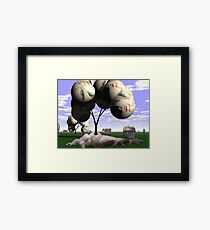 Genealogy of Earth  Framed Print