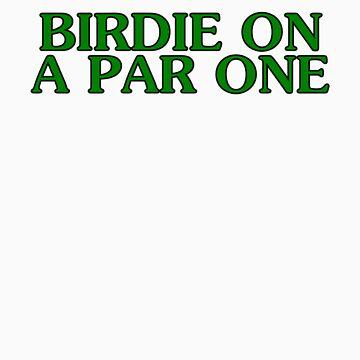 BIRDIE ON A PAR ONE by HauntedBox