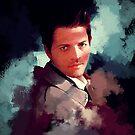 Castiel ~ Portrait by KanaHyde