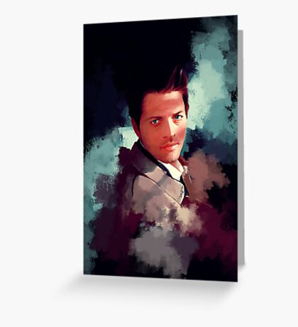 Castiel ~ Portrait Greeting Card