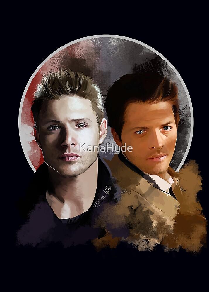 Cas & Dean by KanaHyde