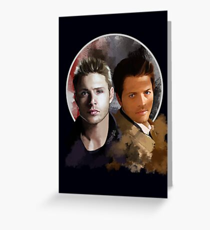 Cas & Dean Greeting Card
