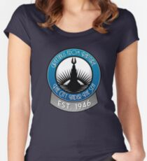 Bioshock Greetings from Rapture! Women's Fitted Scoop T-Shirt