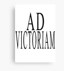 Ad Victoriam (BLK) Canvas Print