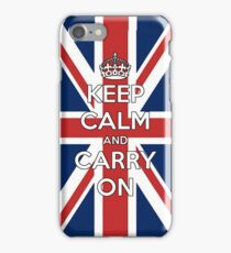 Keep Calm UK iPhone Case/Skin