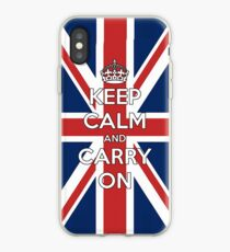 Keep Calm UK iPhone Case