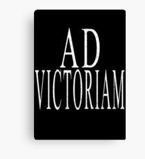 Ad Victoriam (WHT) Canvas Print