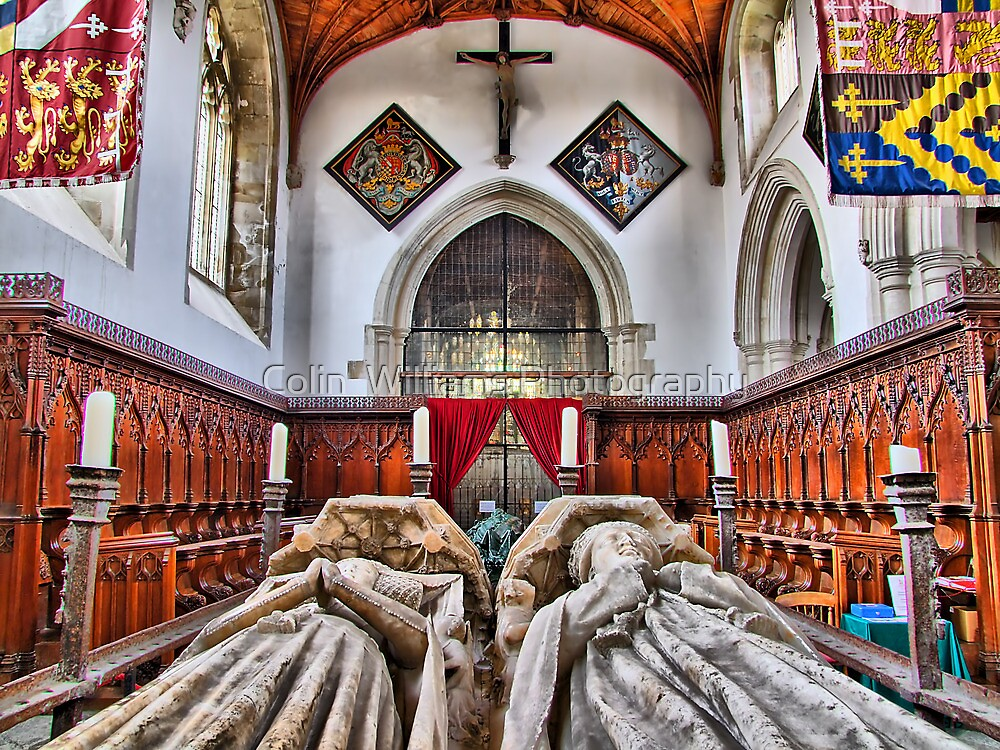The Fitzalan Chapel - Arundel Castle 1 - HDR by Colin  Williams Photography