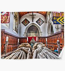 The Fitzalan Chapel - Arundel Castle 1 - HDR Poster
