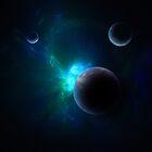 Art By Catherine Radley: Spacescapes III by Catherine Radley (Liversidge)