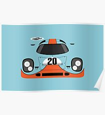 917 #20 Racing Livery Poster
