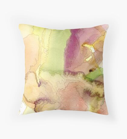 Clouds into Water 4 Throw Pillow