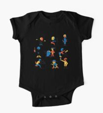 9 Scientists One Piece - Short Sleeve