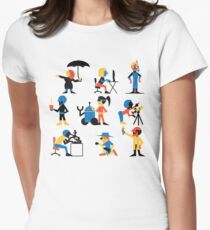9 Scientists Women's Fitted T-Shirt