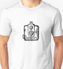 Kodak Brownie Hawkeye Film Camera T-Shirt