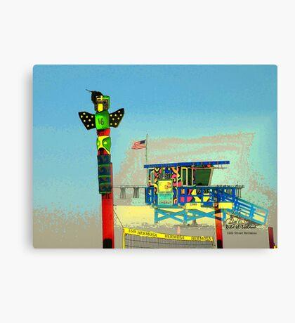 16th Street Hermosa... Canvas Print