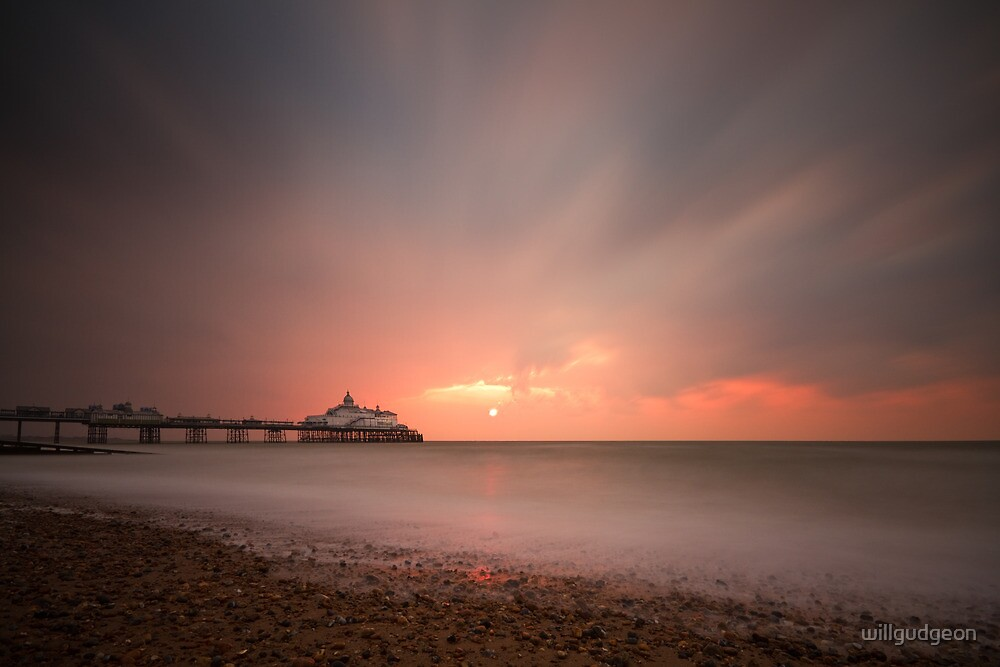 Eastbourne sunrise by willgudgeon