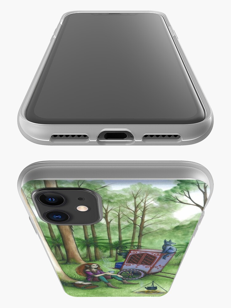 Alternate view of In the Valley of the Tall Trees... iPhone Case & Cover
