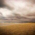 Stormy Middleton Beach in Summer, South Australia by Elana Bailey