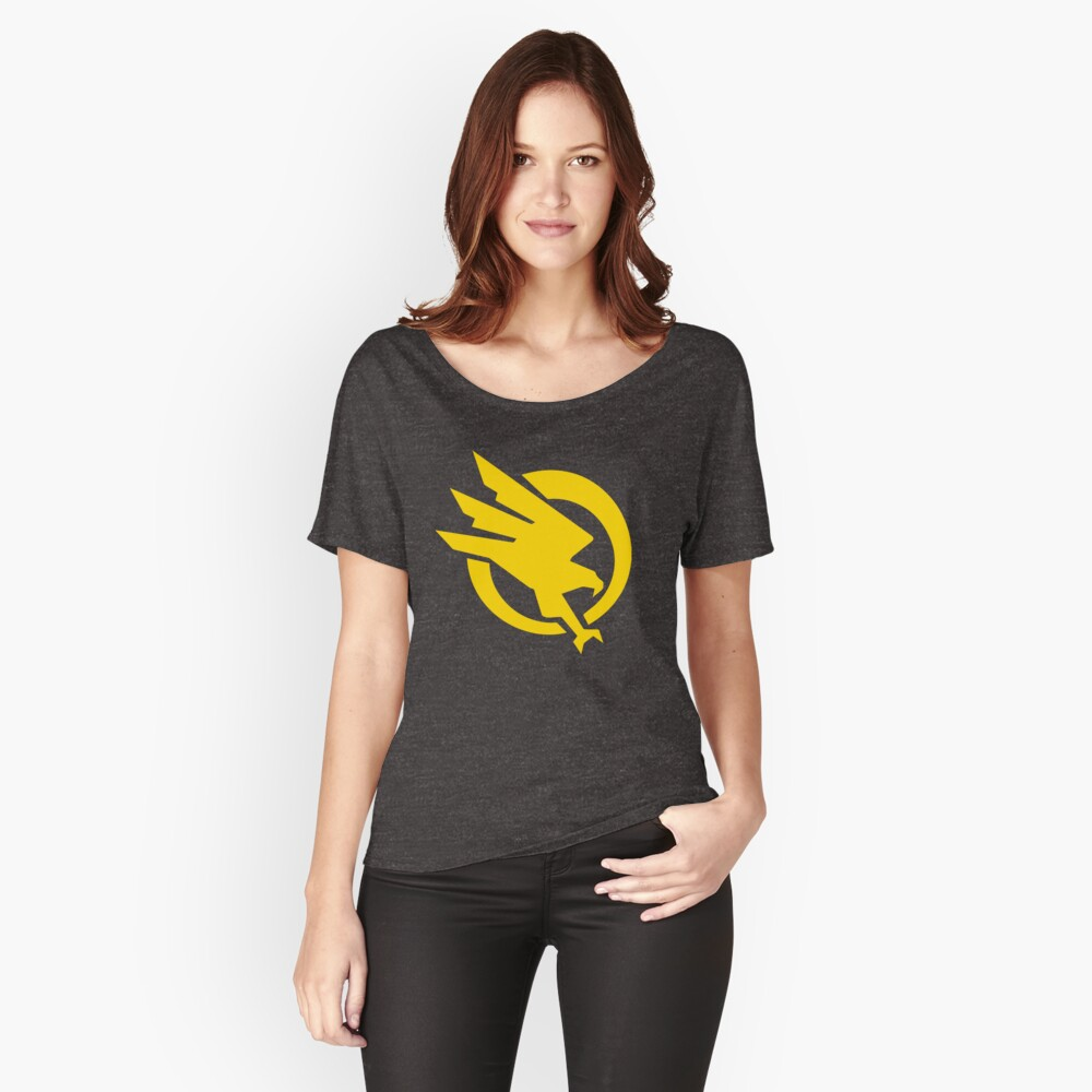 GDI : Global Defense Initiative Women's Relaxed Fit T-Shirt Front